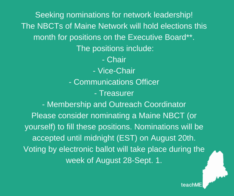 NBCT of Maine-chairs